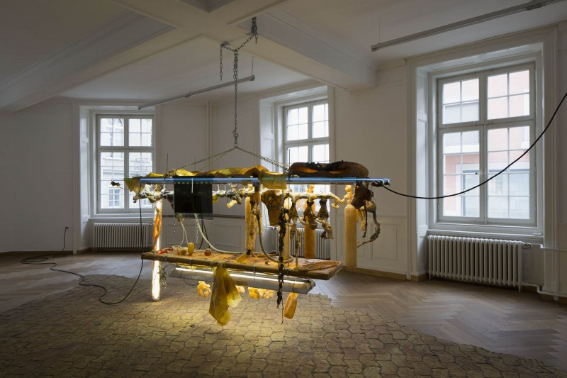 Chloé Delarue, TAFAA – NEW RARE XPENDABLE, 2019, exhibition view, Kunsthaus Langenthal