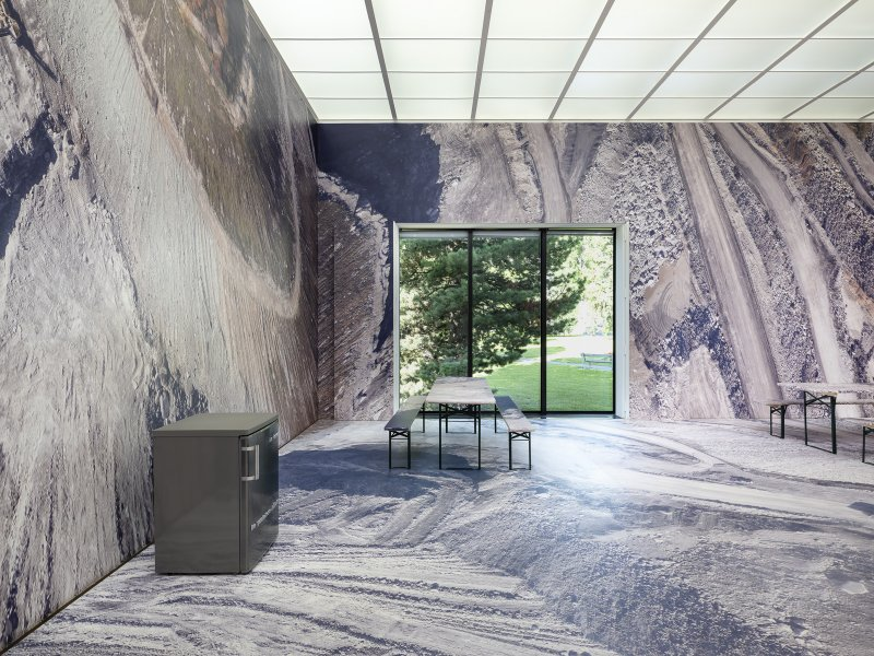 Mathias Kessler, installation view kirchner museum, staging nature