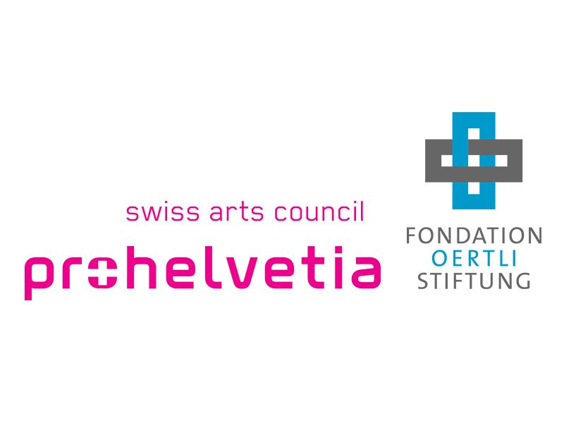 sponsors Breaking Patterns 1 - Pro Helvetia - Oertli Stiftung